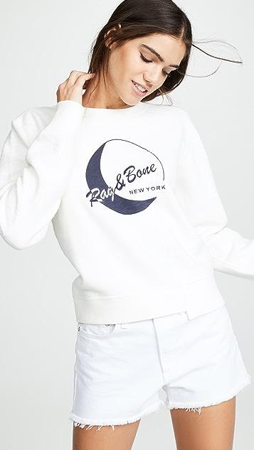Rag Amp Bone Jean 1984 Reconstructed Sweatshirt
