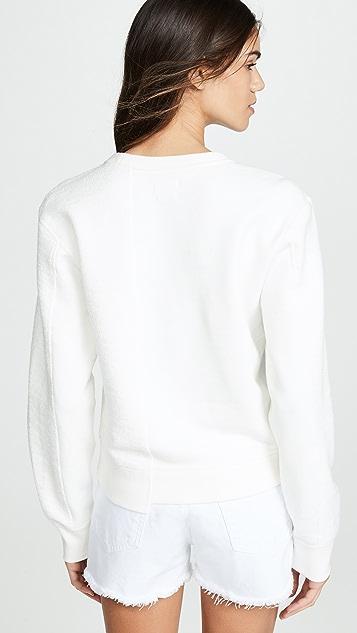 Rag & Bone/JEAN 1984 Reconstructed Sweatshirt
