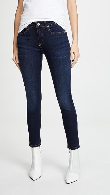 Rag & Bone/JEAN Skinny Ankle Jeans