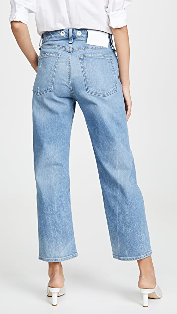 Rag & Bone/JEAN 及踝直脚牛仔裤