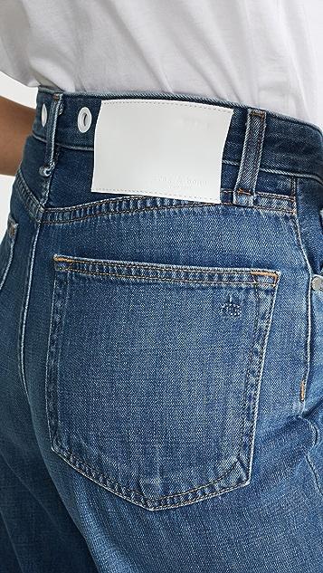 Rag & Bone/JEAN Cropped Cuff Haru Jeans