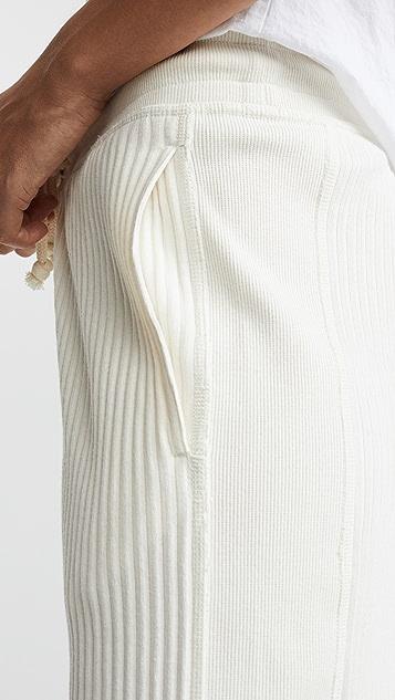 Rag & Bone/JEAN Брюки из ткани в объемный рубчик