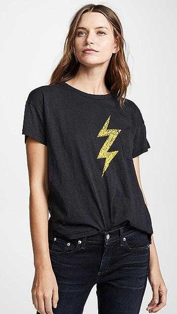 Rag & Bone/JEAN Lightning Crew Neck Tee