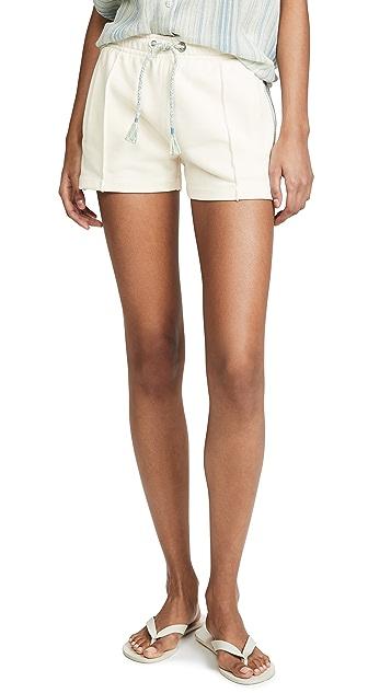 Rag & Bone/JEAN Molly Striped Trim Shorts