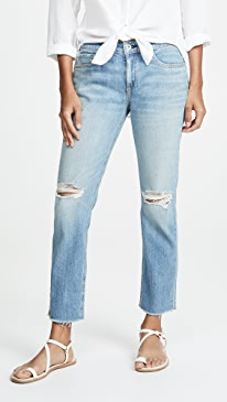 Dre Low Rise Ankle Slim Boyfriend Jeans