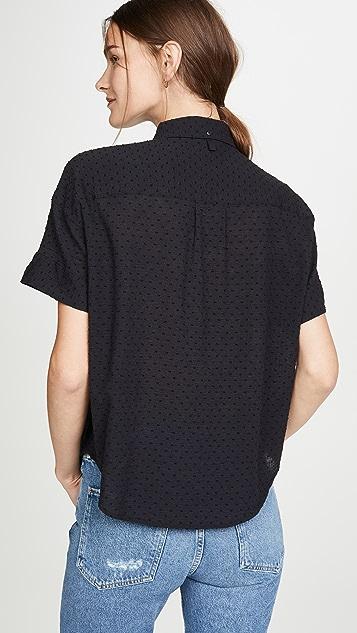 Rag & Bone/JEAN Lenny Tie Shirt
