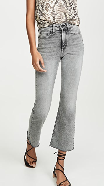 Nina High Rise Ankle Flare Jeans by Rag & Bone/Jean