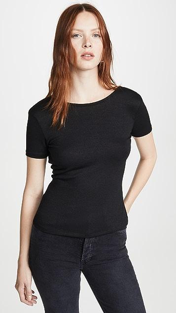 Rag & Bone/JEAN 裹身款式短袖上衣