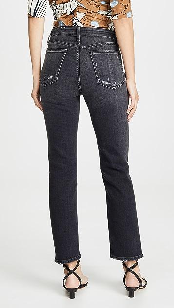 Rag & Bone/JEAN Nina High-Rise Ankle Cigarette Jeans