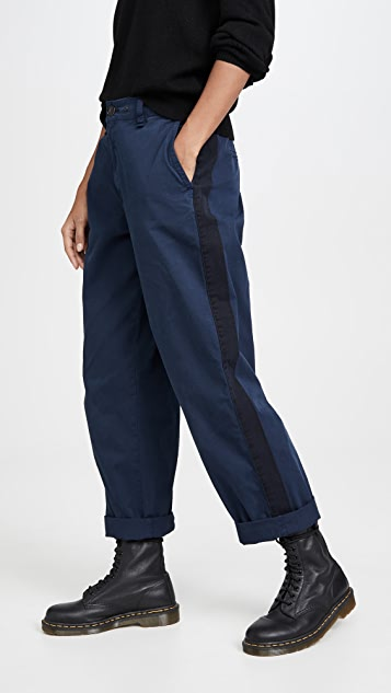 Rag & Bone/JEAN 侧条纹工装裤