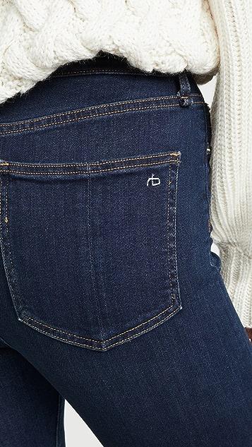 Rag & Bone/JEAN Jane 超高腰紧身牛仔裤
