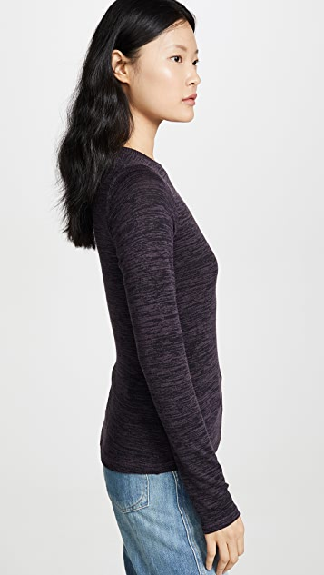 Rag & Bone/JEAN Jane Slim Long Sleeve Tee