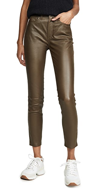 Rag & Bone/JEAN Nina High-Rise Ankle Skinny Pants