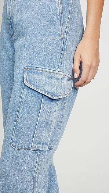 Rag & Bone/JEAN Super High-Rise Cargo Jeans
