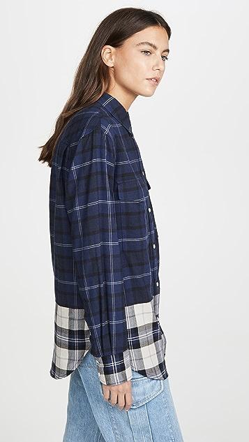 Rag & Bone/JEAN Birdie 衬衫