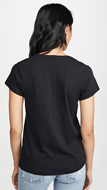 Rag & Bone/JEAN U 领 T 恤