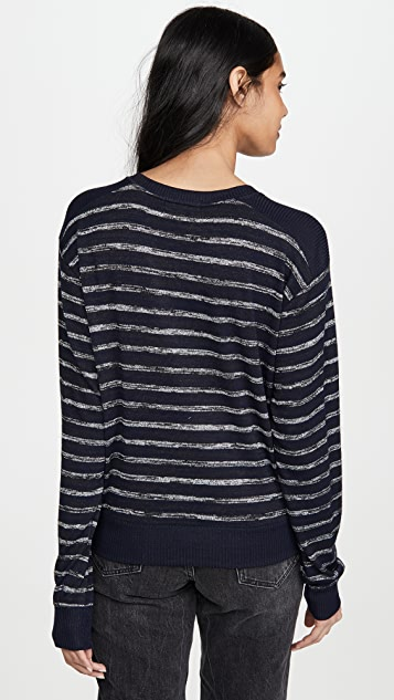 Rag & Bone/JEAN Avryl 条纹套头衫