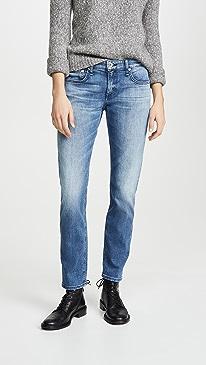 Dre Low Rise Slim Boyfriend Jeans