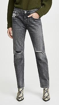 Rosa Mid-Rise Boyfriend Jeans
