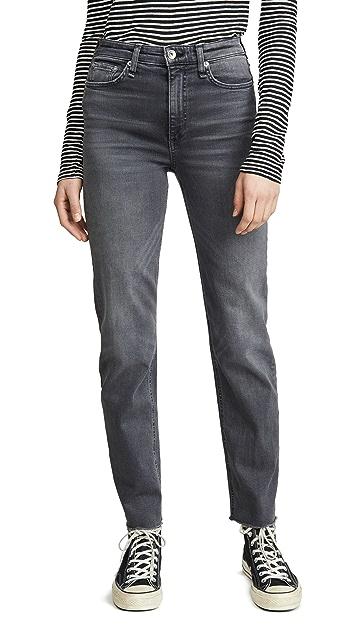 Rag & Bone/JEAN Nina High-Rise Cigarette Jeans