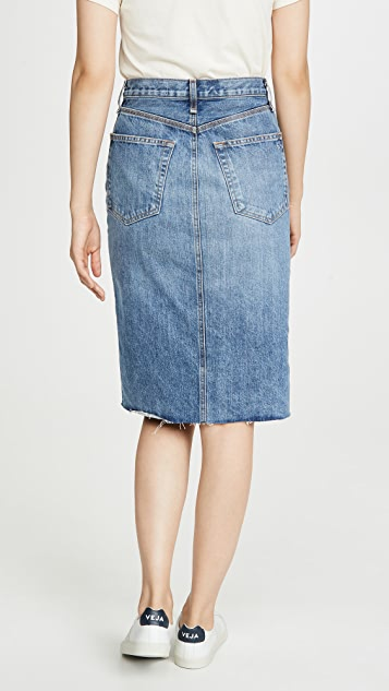 Rag & Bone/JEAN Super High-Rise Pencil Skirt