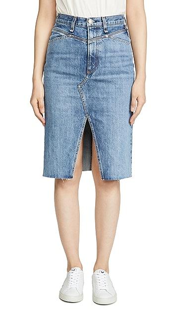 Rag & Bone/JEAN 超高腰铅笔裙