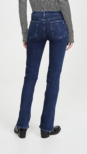 Rag & Bone/JEAN Cate Mid-Rise Skinny Jeans