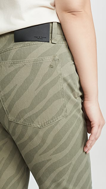 Rag & Bone/JEAN Maya 高腰九分直脚牛仔裤