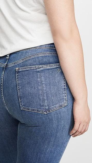 Rag & Bone/JEAN Nina 高腰紧身牛仔裤
