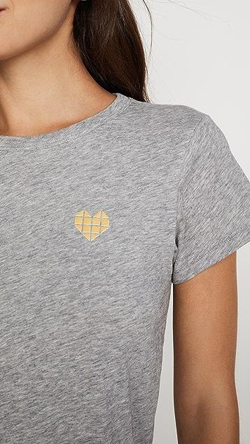 Rag & Bone/JEAN Футболка Heart