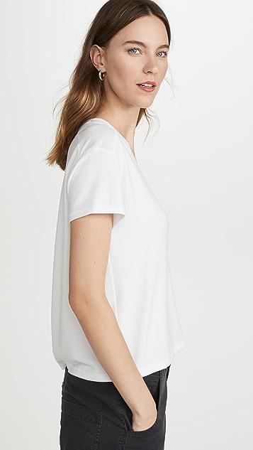 Rag & Bone/JEAN Трикотажная футболка с V-образным вырезом