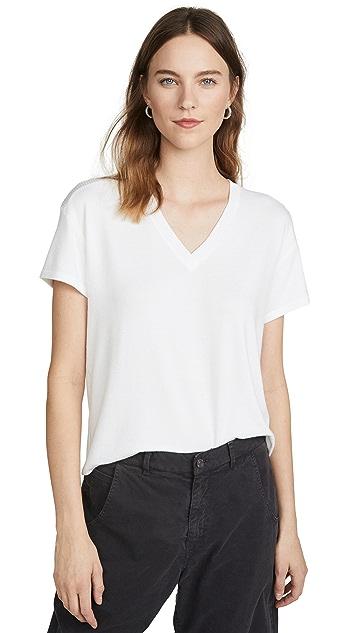 Rag & Bone/JEAN 针织 V 领 T 恤