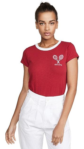 Rag & Bone/JEAN One Love Tennis T 恤