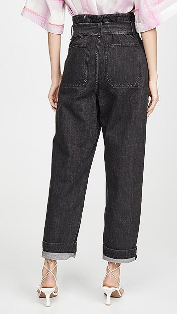 Rag & Bone/JEAN Super High Rise Darted Jeans
