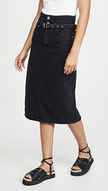 Rag & Bone/JEAN Paper Bag Skirt