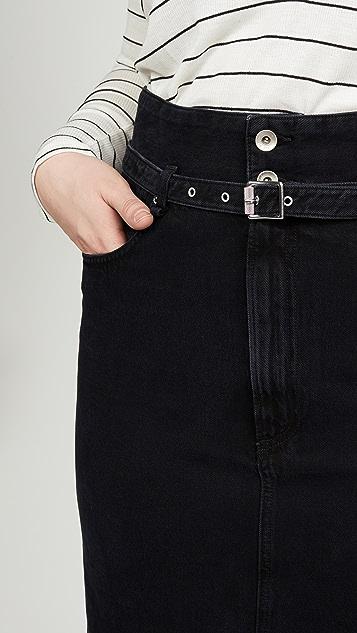Rag & Bone/JEAN 纸包半身裙