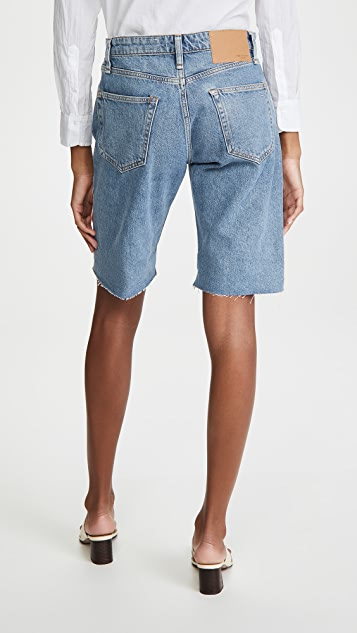 Rag & Bone/JEAN Rosa Mid Rise Walking Shorts