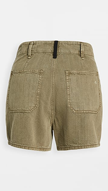 Rag & Bone/JEAN Super High Rise Military Shorts