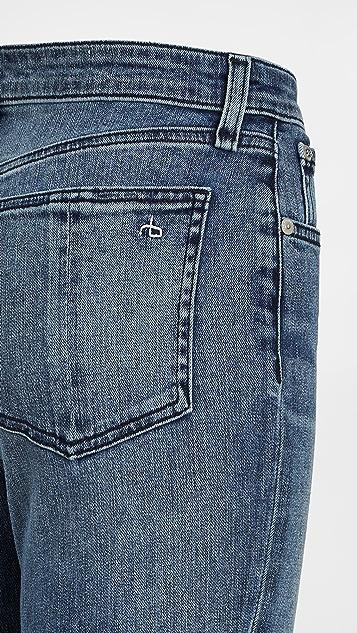 Rag & Bone/JEAN Nina 高腰九分喇叭牛仔裤