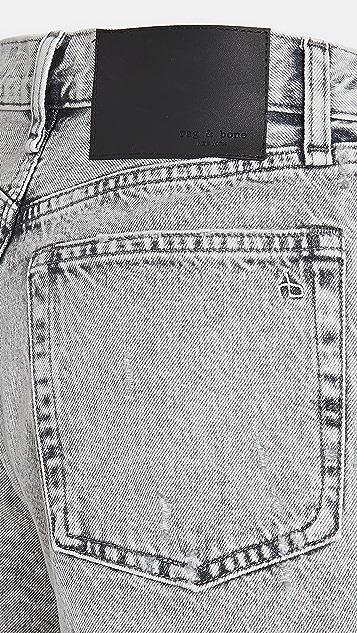 Rag & Bone/JEAN Maya 高腰短裤