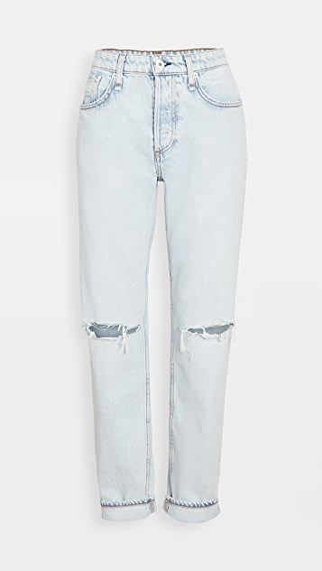 Rag & Bone/JEAN Rosa 中腰男友风格长裤