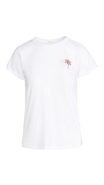 Rag & Bone/JEAN 三棕榈树 T 恤