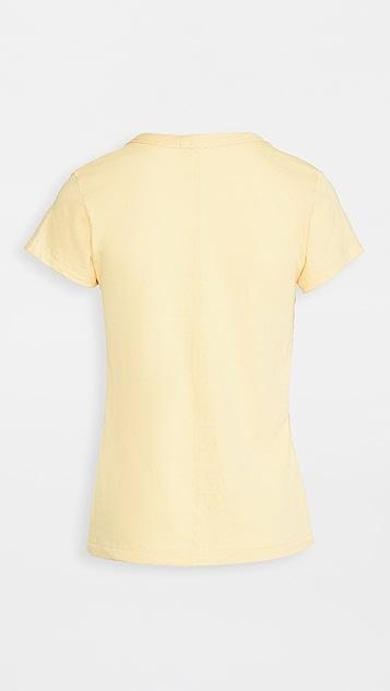 Rag & Bone/JEAN 竹节纹 T 恤