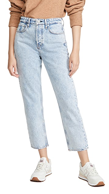 Rag & Bone/JEAN Maya High Rise Ankle Slim Jeans