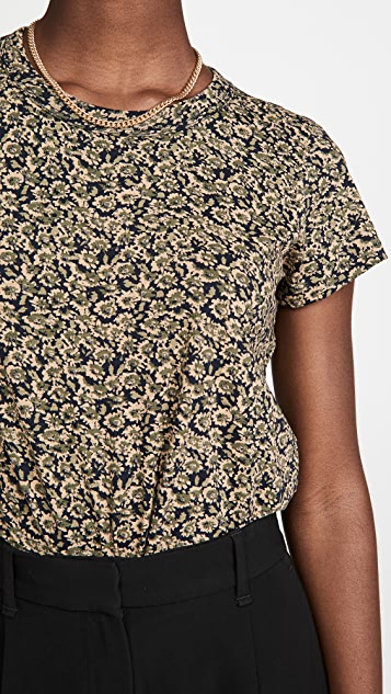 Rag & Bone/JEAN 花卉迷彩 T 恤
