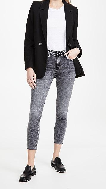 Rag & Bone/JEAN Cate Mid Rise Ankle Skinny Jeans