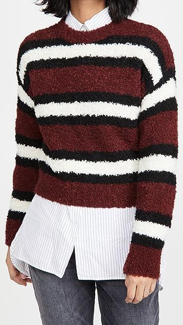 Rag & Bone/JEAN Robyn 条纹套头衫