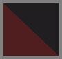 勃艮第酒红/黑条纹