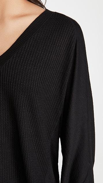 Rag & Bone/JEAN The Knit Racer Pullover