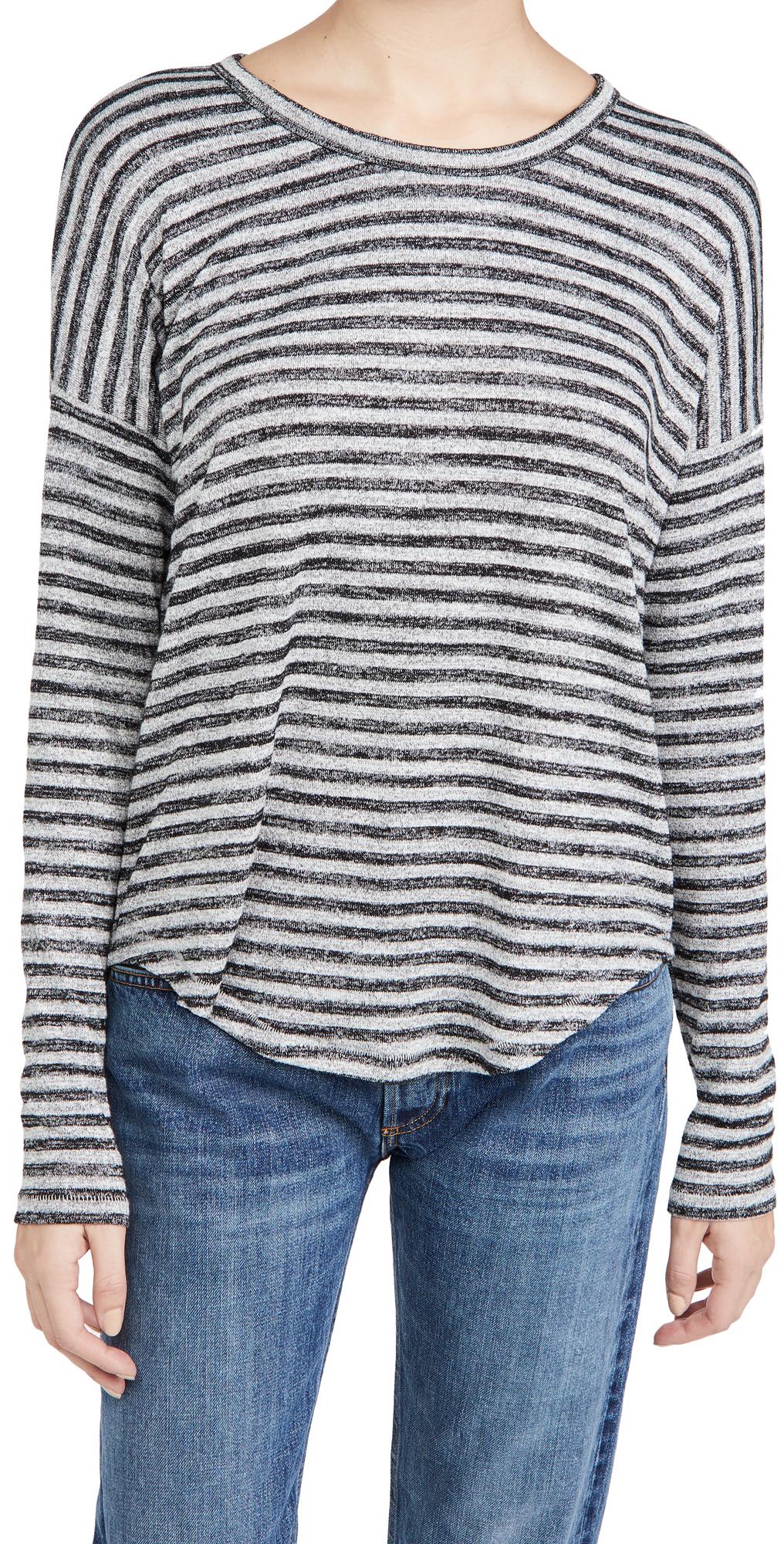 Rag & Bone/JEAN The Knit Striped Shirt
